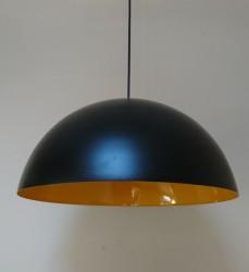 KP AYDINLATMA - Küre Dekoratif Sarkıt (SİYAH) 50cm